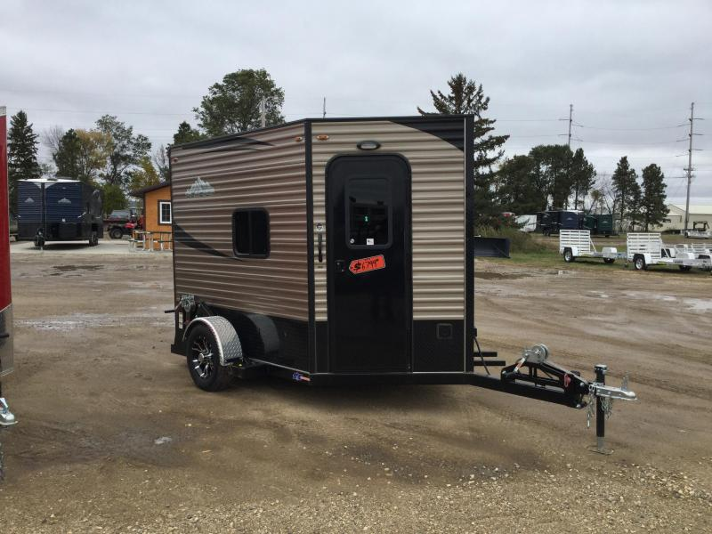 2019 Glacier A68 (6.5X8) DELUXE MODEL Ice/Fish House Trailer