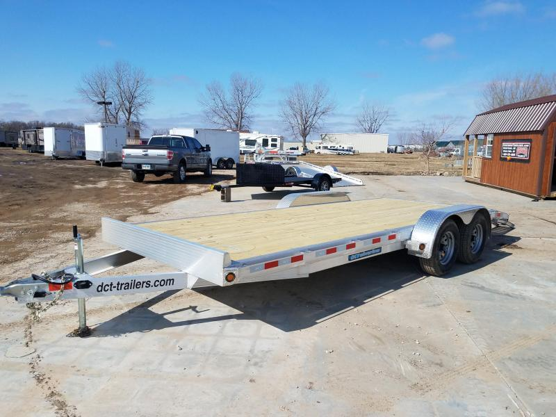 2019 DCT AS20BT-10 Flatbed Trailer