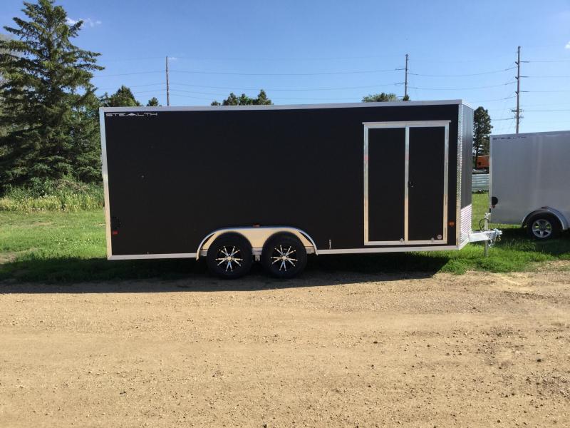 2018 Alcom-Stealth 7.5x18 Enclosed Cargo Trailer