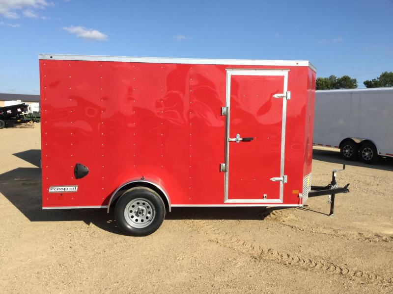 2019 Haulmark 6x12PP Enclosed Cargo Trailer