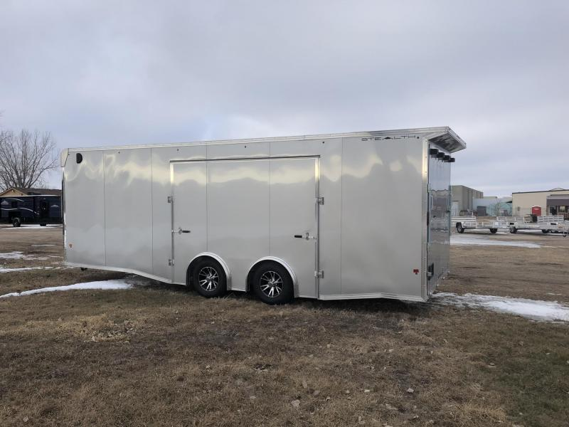 2019 Alcom-Stealth 8.5x24 Enclosed Cargo Trailer