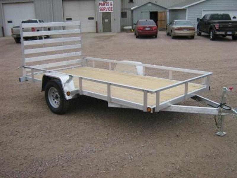 2018 DCT-Trailers Aluminum Utility w/rail AS8314R - ON THE LOT SIOUX FALLS!