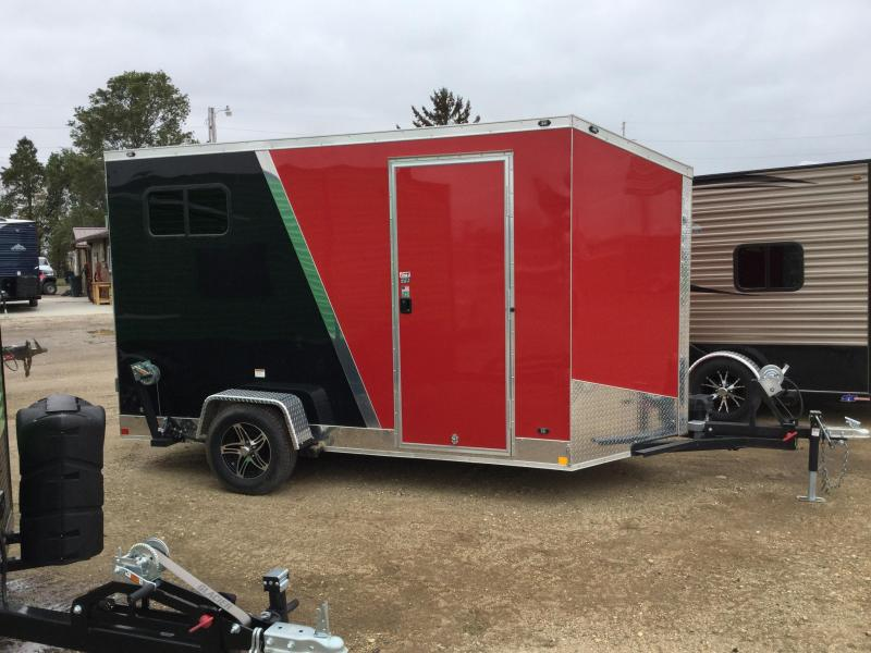 2018 ALL SPORT ICE SHACK / TRAILER COMBO 6x12