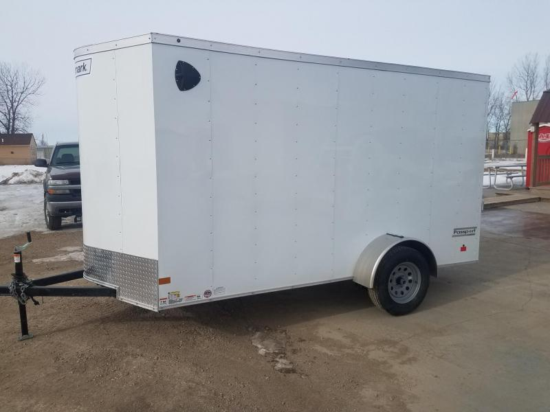 2020 Haulmark 6x12PP Enclosed Cargo Trailer