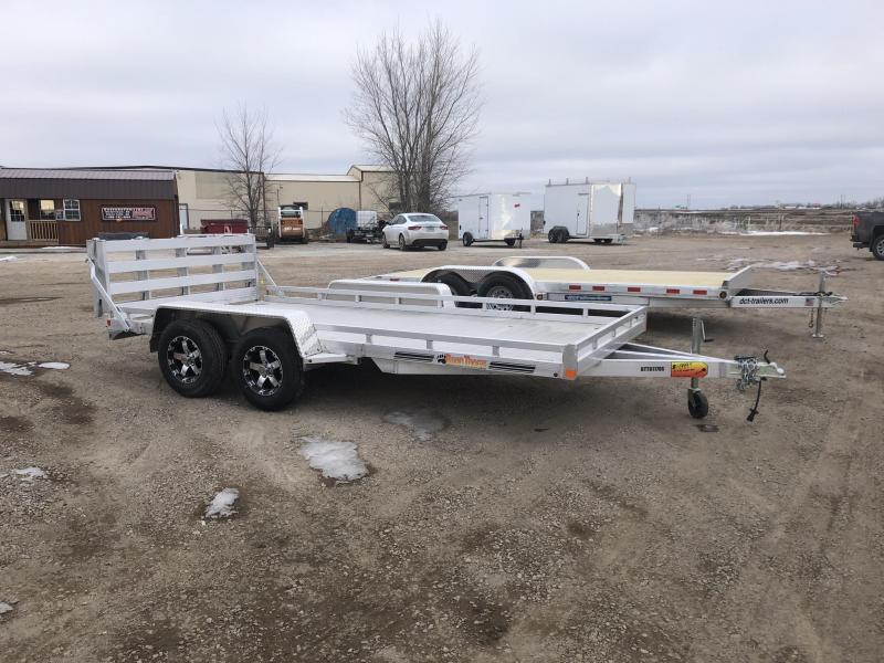 2019 Bear Track Products 80X14 TANDEM HEAVY DUTY ALUMINUM UTILITY Utility Trailer