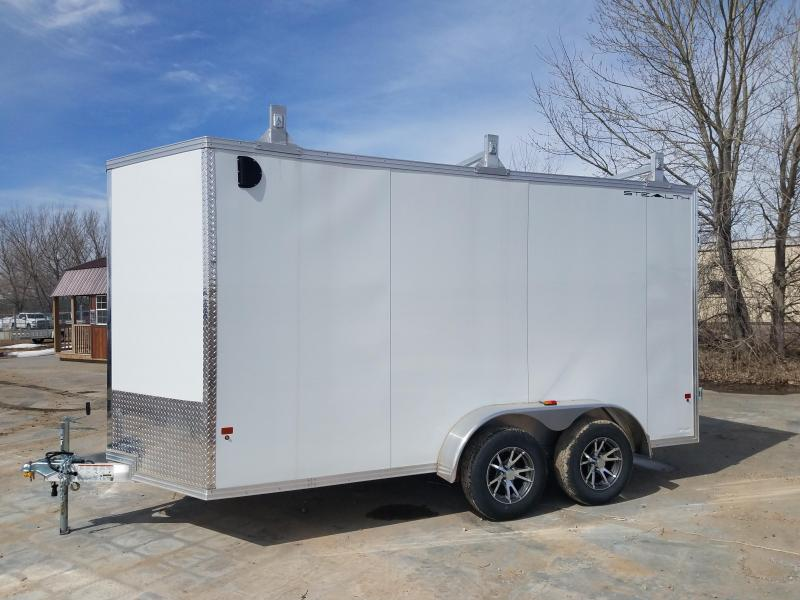 2018 Alcom-Stealth 7X14 Enclosed Cargo Trailer