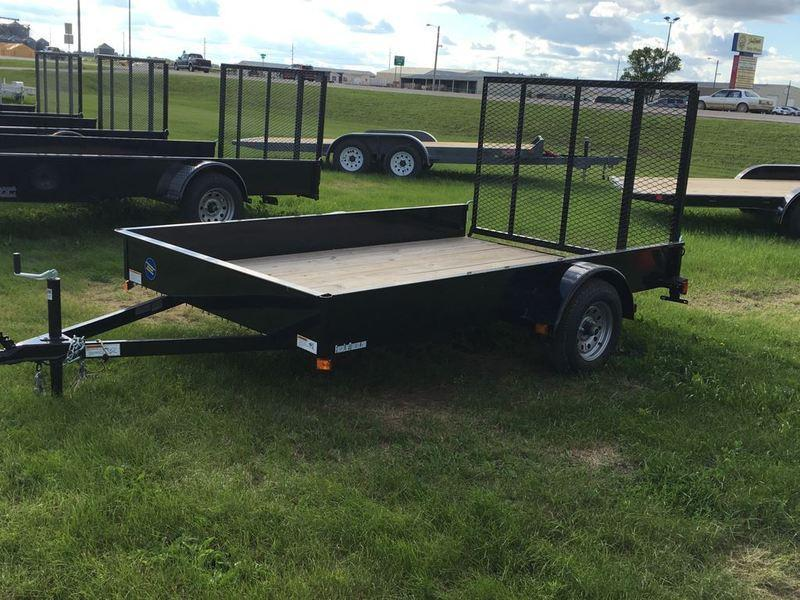 2017 Finish Line 76x10 E-series Utility Trailer