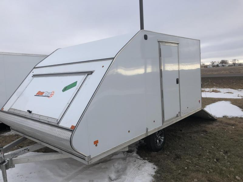2019 Snopro 12 HYBRID SNOWMOBILE TRAILER ALL ALUMINUM Snowmobile Trailer