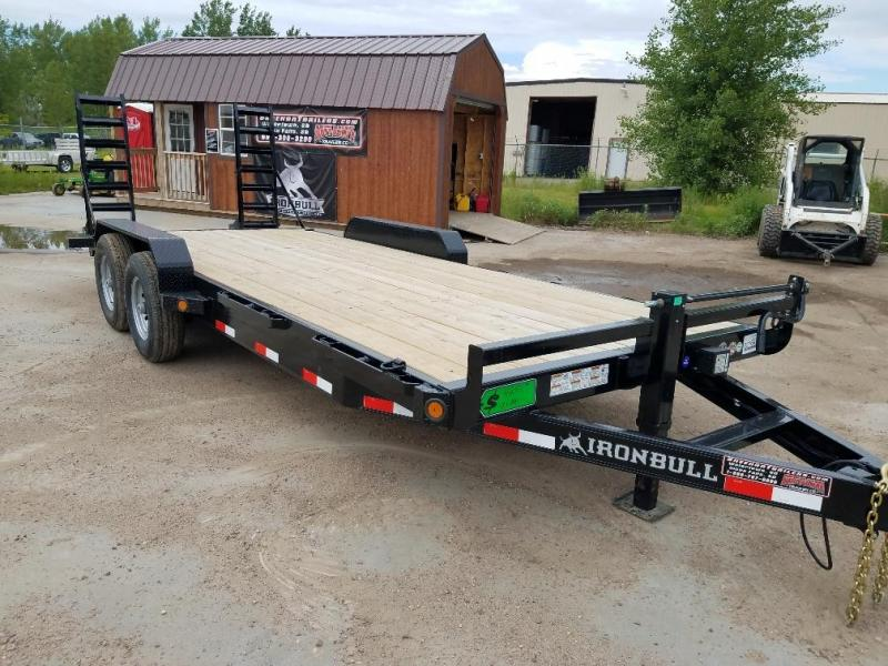 2019 Iron Bull 20 SKID LOADER Equipment Trailer