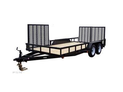 Carry-On 7X16HDXLANDATV-7K 7,000 lbs. GVWR Tandem Axle