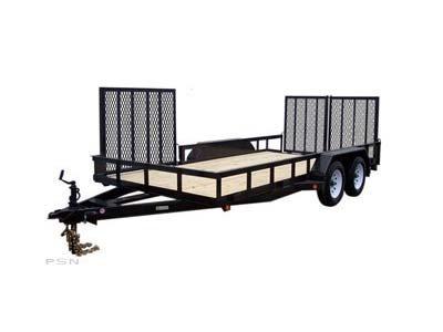 Carry-On 7X16HDXLANDATV-7K 7,000 lbs. GVWR Tandem Axle