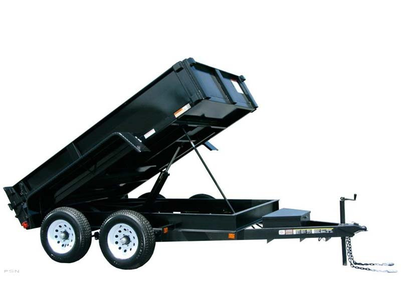 Carry-On 6X10DUMPLP10K - 7,000 - 9,990 lbs. GVWR Dump Trailer