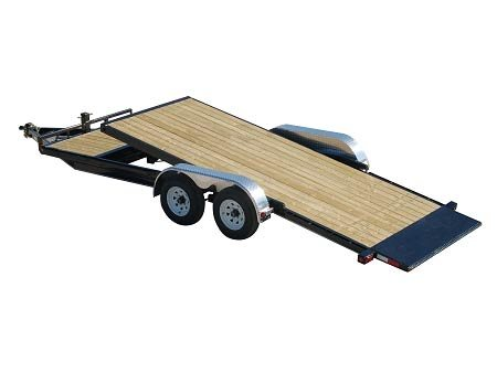 PJ Trailers 5 in. Channel Tilt Carhauler (T5)