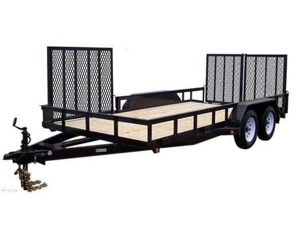 Carry-On 7X18HDXLANDATV-10K 10,000 lbs. GVWR Tandem Axle