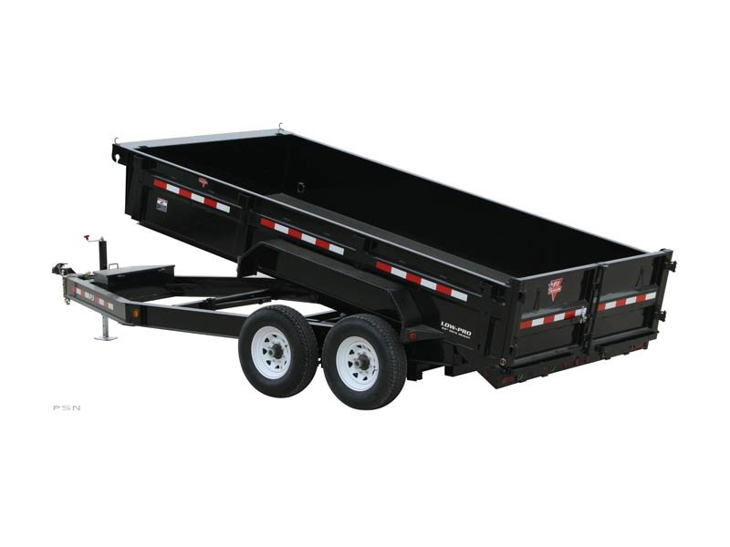 PJ Trailers 83 in. Low Pro Dump (DL)