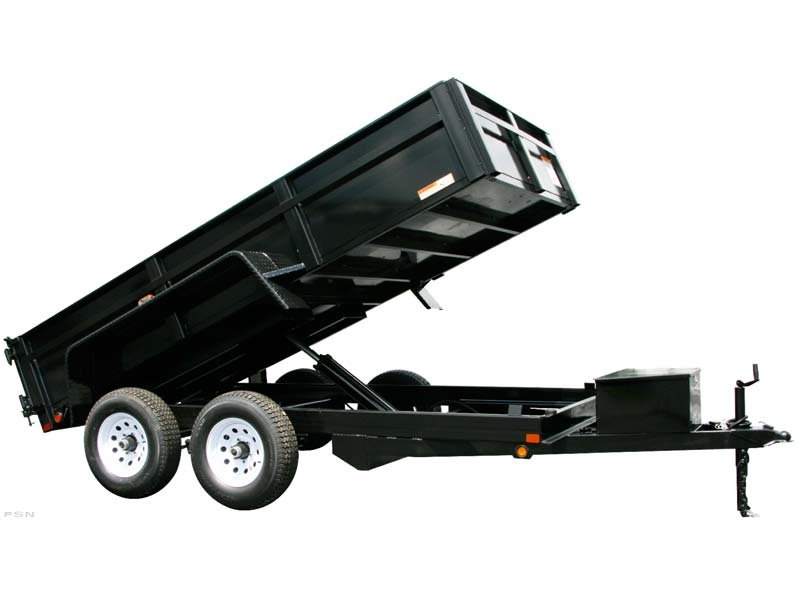 Carry-On 7X12DUMP10K-HDX - 10,000 lbs. GVWR Dump