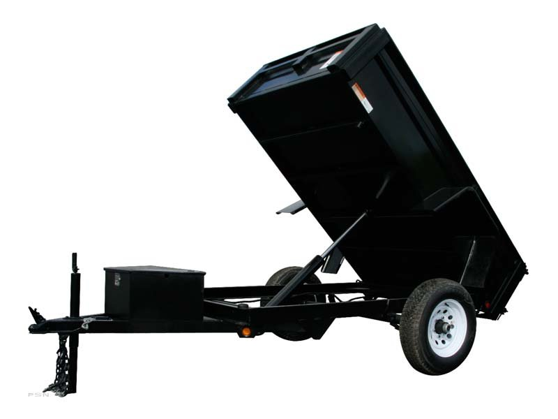 Carry-On 5X8DUMP5K-HDX - 5,000 lbs. GVWR HDX Dump Trailer