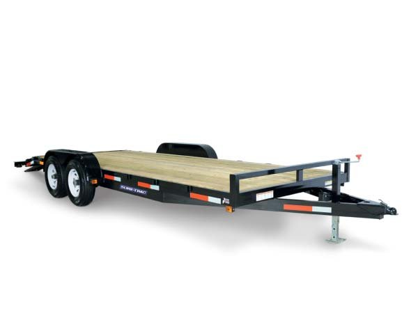 2017 Sure-Trac 7 X 20 Wood Deck Car Hauler 10k