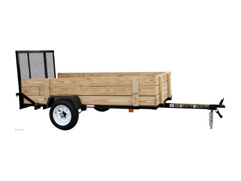 Carry-On 4x8WOODY - 2,000 lbs. GVWR Wood Side Trailer