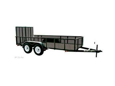 Carry-On 6X14GWHS1BRK - 7,000 lbs. GVWR High-Side Mesh