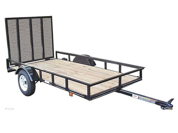 Carry-On 5X8GW2K - 2,000 lbs. GVWR Wood Floor