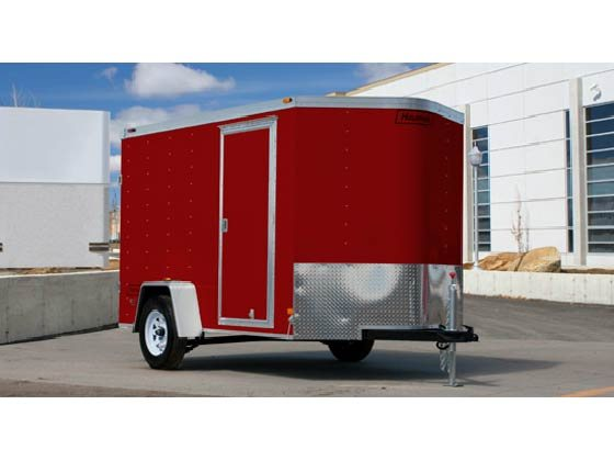 2014 Haulmark Trailers TSTV6X12DT2 Enclosed Cargo Trailer