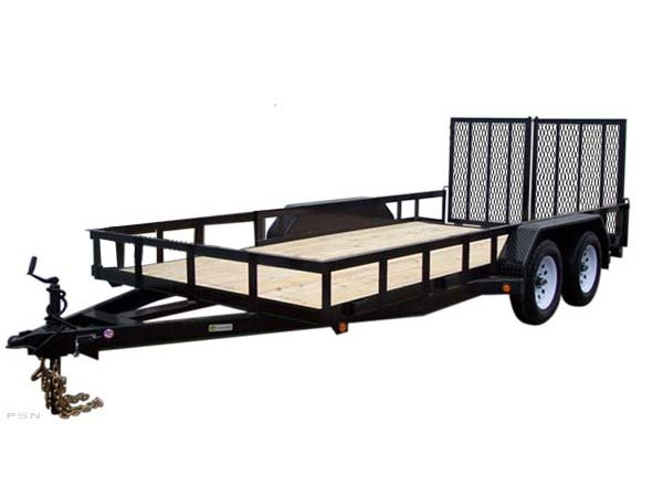 Carry-On 7X16HDXLAND-7K 7,000 lbs. GVWR Tandem Axle