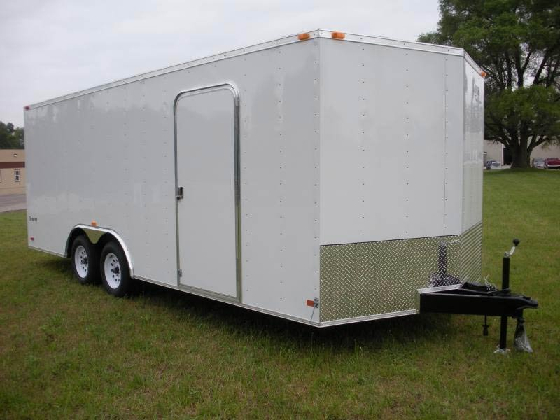 2017 Look EWLC 85 X 20 Car Trailer