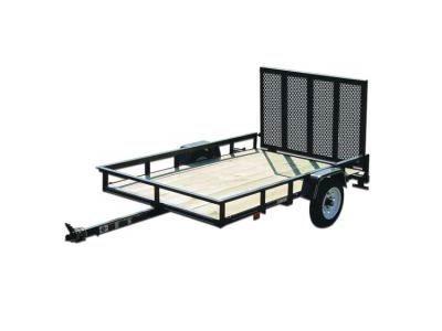 Carry-On 4X6GW2K - 2,000 lbs. GVWR Wood Floor