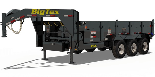 Big Tex Trailers 21GX-16