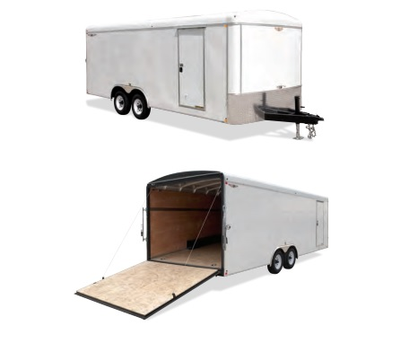 2019 H and H Trailer 101X22 HH R-TOP CARHAUL VNOSE 10K CARGO