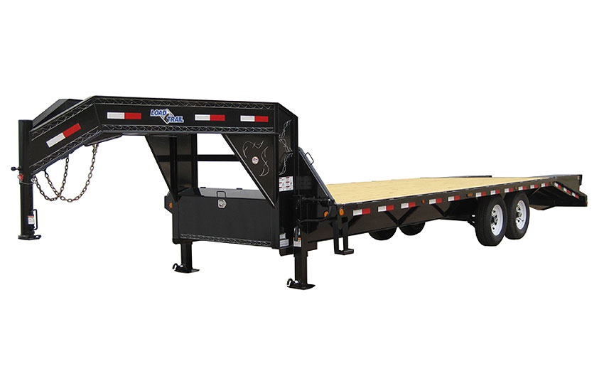 "2013 Load Trail 102"" x 25' Heavy Duty Gooseneck 2-7000 lb Axles"