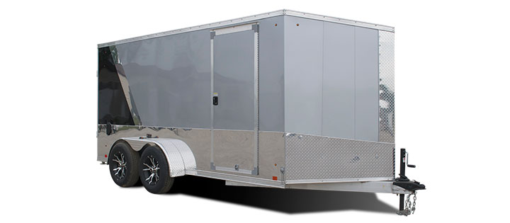 Look Trailers VWLM7X12TE2 Aluminum