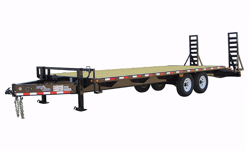 "2015 Load Trail 102"" x 26' Heavy Duty Pintle Hook   2-7000 lb Axles"