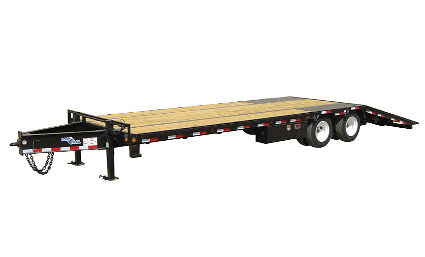 "2019 Load Trail 102"" X 28' Tandem Low-pro Pintle Hook Equipment Trailer"