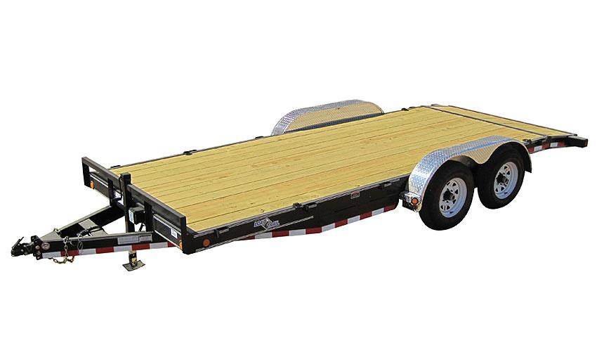 """2015 Load Trail 80"""" X 16' Tandem Axle Carhauler 2-5200 lb"""