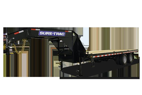2017 Sure-Trac 8.5 X 21+5 Low Pro Deckover GN 15K