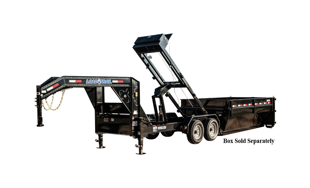 "Load Trail GM14 – Tandem Axle Drop-N-Go Roll Off Dump w/8"" I-Beam Frame"