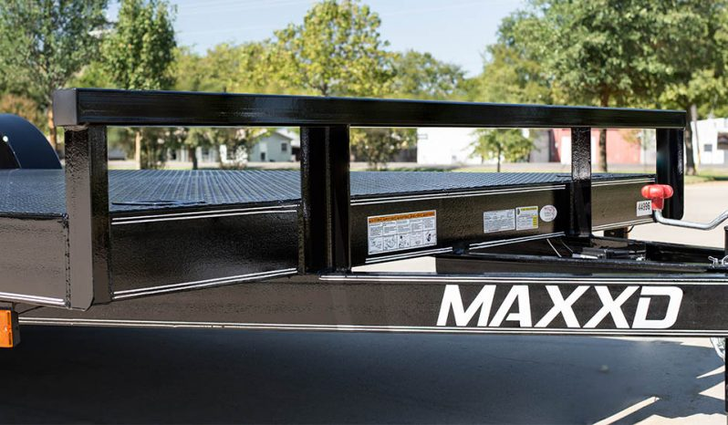 MAXXD C3M - White Series 7K Channel Car Hauler