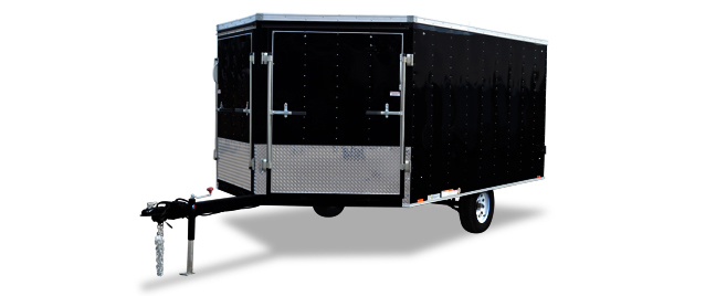 2018 Cargo Express Xl Denali Snowmobile Trailer Cargo / Enclosed Trailer