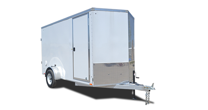 2018 Cargo Express Ax Aluminum 6 Wide Single Cargo Cargo / Enclosed Trailer