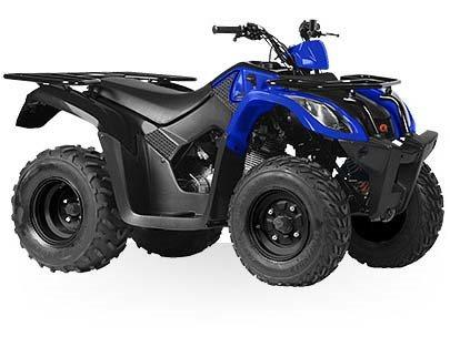 Kymco MXU 150X - Blue / Black