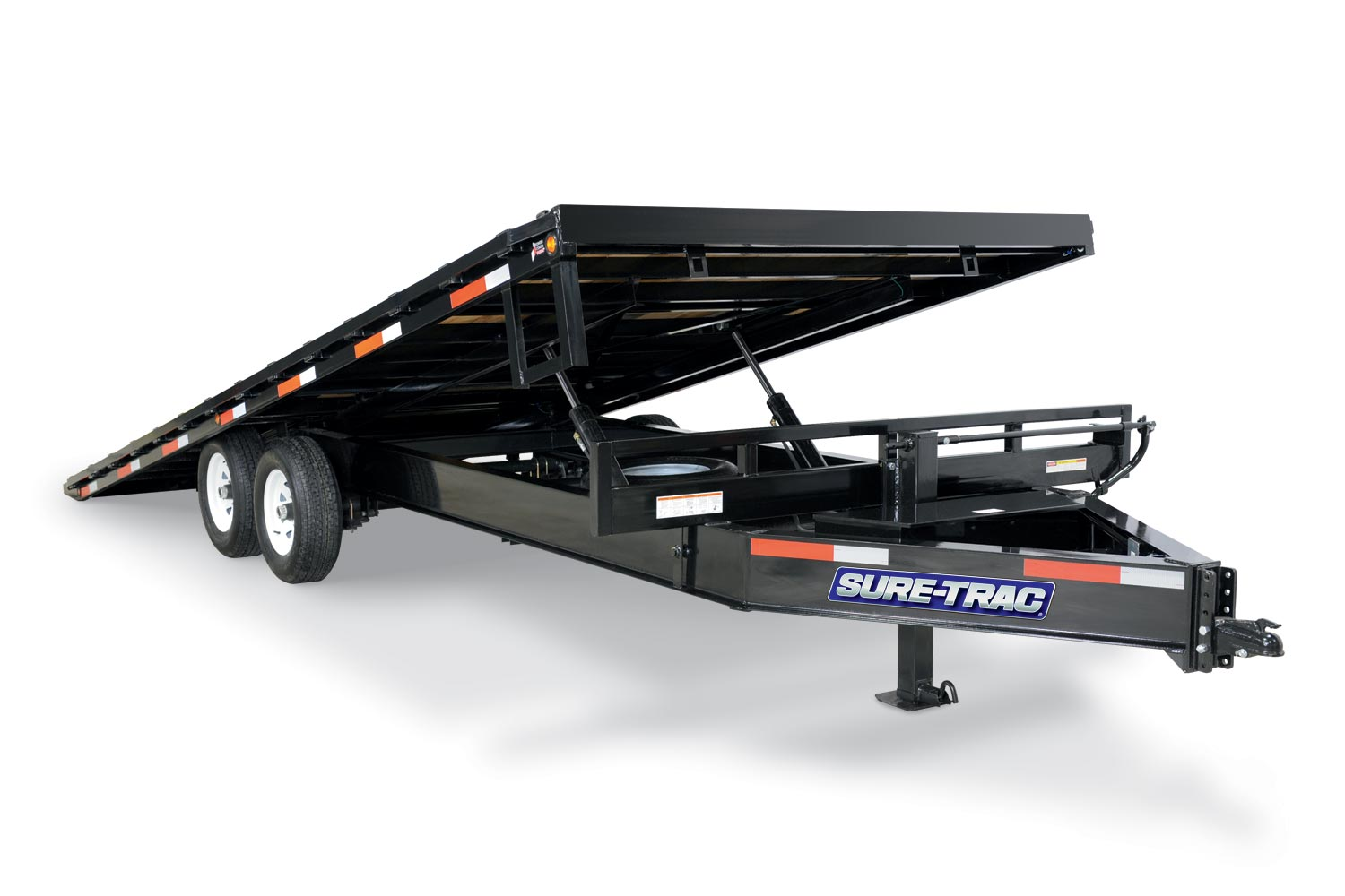 2019 Sure-Trac 102 x 22 Deckover Power Tilt BP 15K GVWR