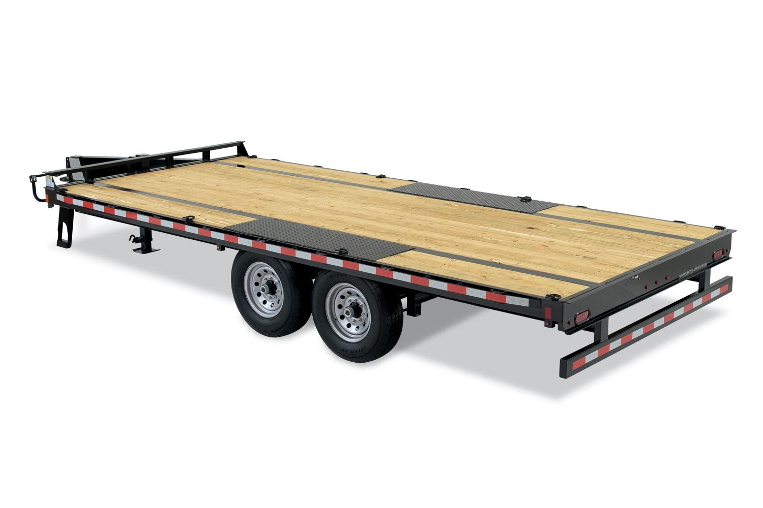 Sure-Trac 8.5 x 20 + 5 32K Heavy Duty Low Profile Beavertail Deckover