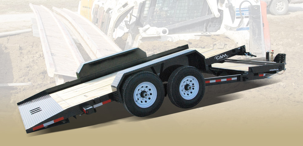 2020 Cam Superline 7 Ton Tilt Trailer Split Deck 8.5 x 16+4
