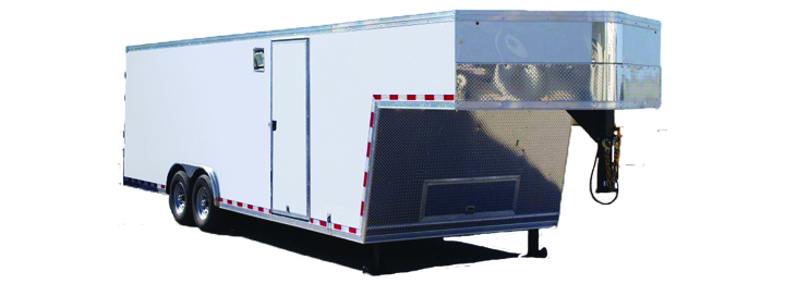 2021 Cargo Express Pro Roundtop Gooseneck Cargo / Enclosed Trailer