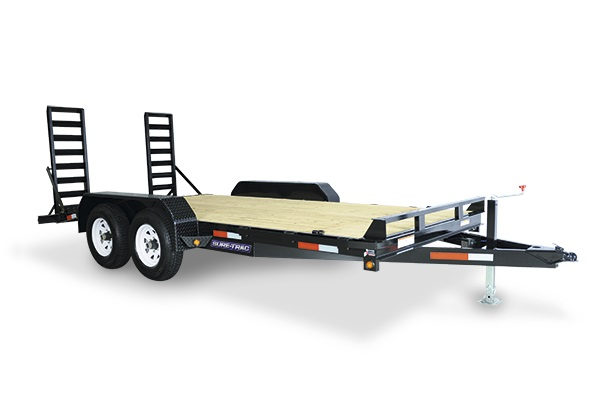 2018 Sure-Trac 7 x 22 Equipment Trailer 16K