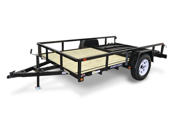 2018 Sure-Trac 6 X 12 Tube Top Utility Trailer 2018156