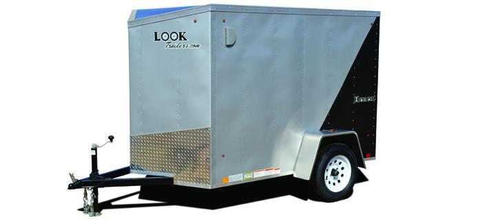 2017 Look Trailers Look Ewlc 5 Wide Single Cargo / Enclosed Trailer