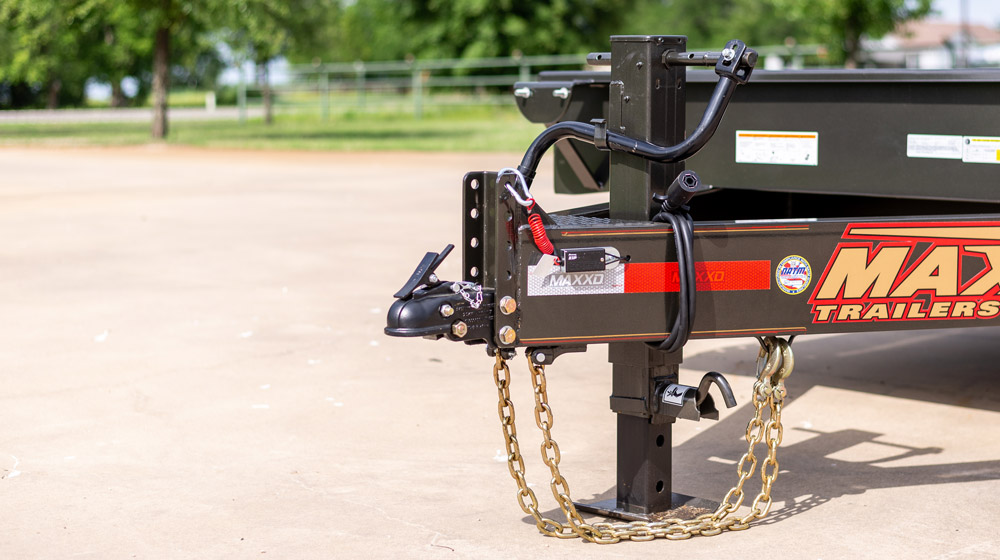 "MAXXD G8X - 8"" Gravity Equipment Tilt Trailer"